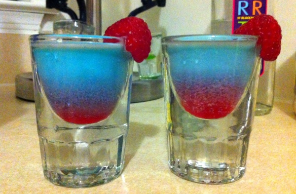 "The ""Razzle Frazzle"" shot"