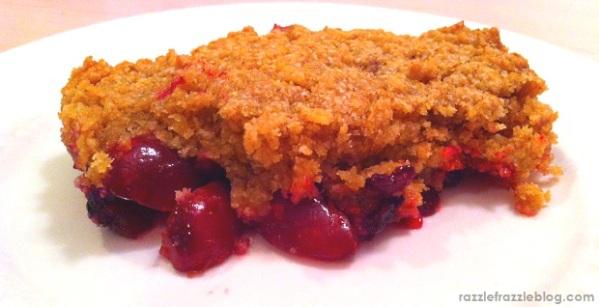 Gluten Free Berry Crisp - Razzle Frazzle (1)