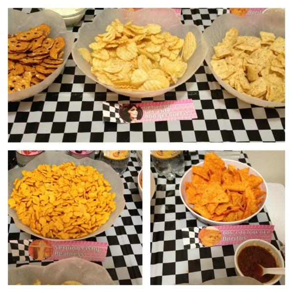 Rupaulloween-snacks