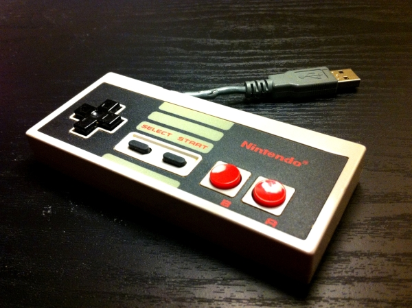 NES Controller Flash Drive 3