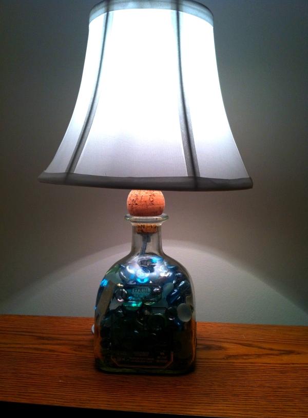 Patron Bottle Lamp - Razzle Frazzle