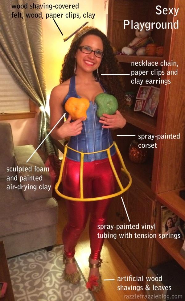 Sexy Playground Costume - RazzleFrazzleBlog.com