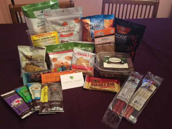 Healthy Cheats snack box