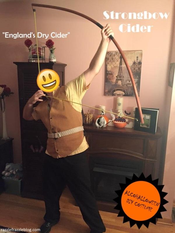 Strongbow Cider - Alcohalloween DIY costume (Razzle Frazzle)