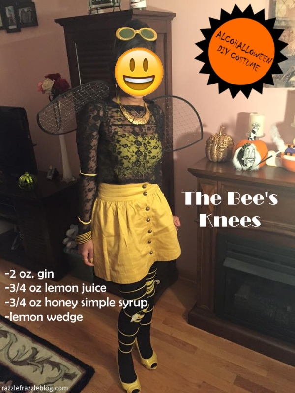 The Bee's Knees - - Alcohalloween DIY costume (Razzle Frazzle)