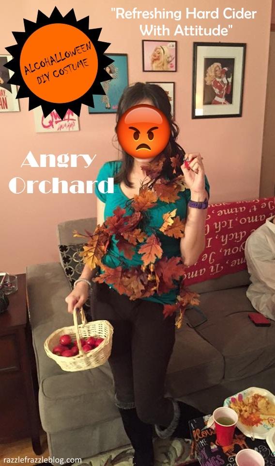 - Alcohalloween DIY costume (Razzle Frazzle)