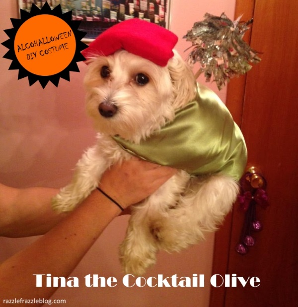 Cocktail Olive - Alcohalloween DIY costume (Razzle Frazzle)