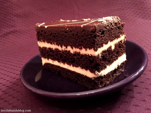 Inspired by Happiness Dark & White Chocolate Layer Cake