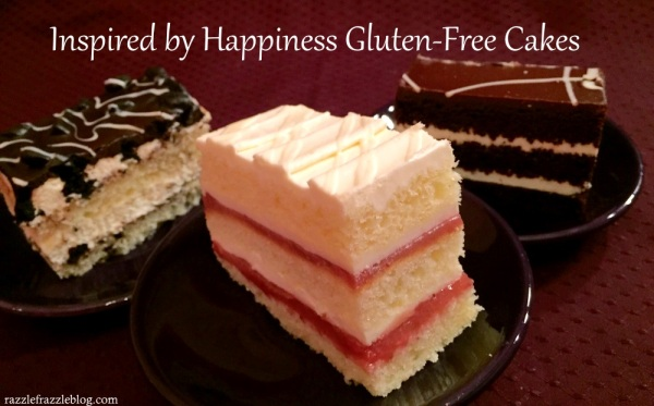 Inspired by Happiness Gluten-Free Cakes - RazzleFrazzleBlog.com Review