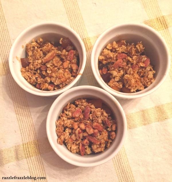 Stovetop apple crisp - RazzleFrazzleBlog.com